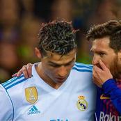 Ronaldo's goal keeps Juventus nine points behind Inter Milan as Messi scores to lift Barcelona
