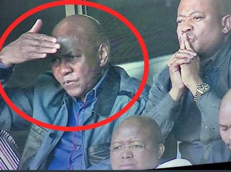 A Picture of Bobby Motaung with Molefi Ntseki Suggest he Might be Gavin Hunt's Replacement (Opinion)