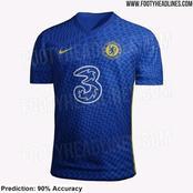 Chelsea Kit For 2021/22 Season Leaked