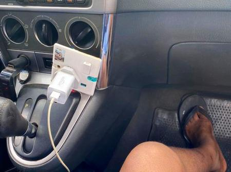 Man Reveals What He Saw Inside An Uber Ride