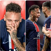 Read What Fans Are Saying About Neymar After PSG Won Bayern As UEFA, BT Sports & Others React