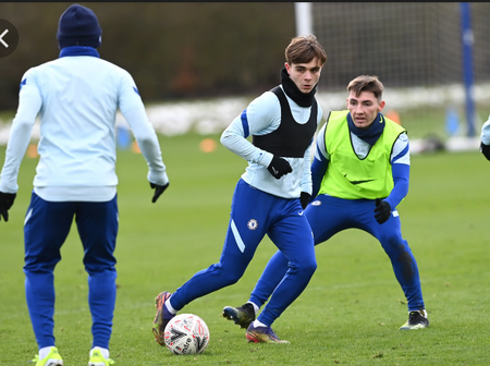 With Mount, Jorginho & Kante Injured, See The Academy Players That Were Spotted In Training Today