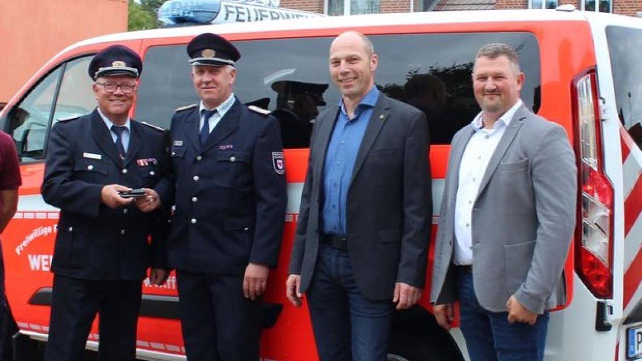 Nach sieben Jahren Wartezeit: Ein neues Fahrzeug für die Weisener Feuerwehr