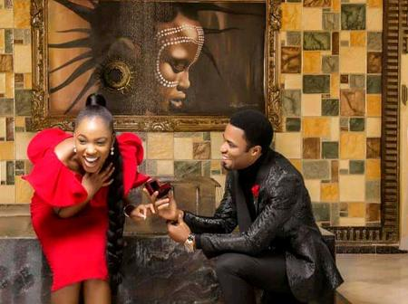 Apostle Michael Orokpo Proposes To His Mysterious Lady Publicly