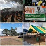 Troubles à Lopou: un meeting du Rhdp empêché par des manifestants de l'opposition