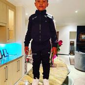 Fans gush over Anele Mdoda's son's recent picture.