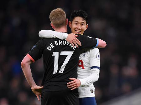 After Son inspires Tottenham Win over Man City. See what EPL Table looks like