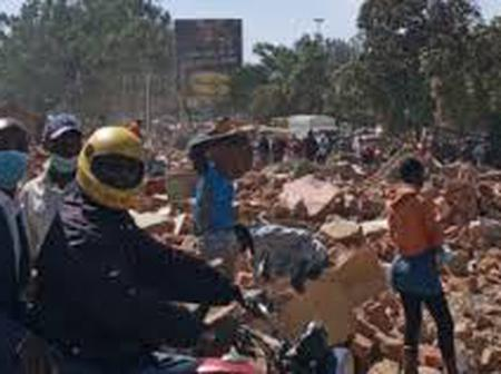See what happened at Bungoma as hospitals and mall are destroyed