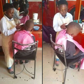 Meet One Of Jos Youngest Barber, Daweng.
