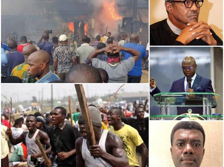 Today's Headlines: Buhari Would Stabilize Nigeria- Tunde Bakare Said , Hoodlums Bomb Imo Correctional Center
