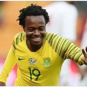 Former Mamelodi Sundowns player Percy Tau Made It To SA U23 Olympic Squad