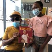 Somizi shares pictures of him at a book signing in Rustenburg who knows where he will go next