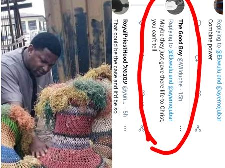 Pastor Praying For Masquerades Sparks Mixed Reactions On Social Media [Photos]