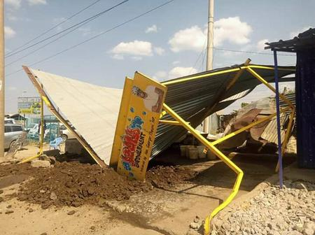 DP Ruto Sponsored Car Wash Bulldozed As Embakasi West MP Cries Foul