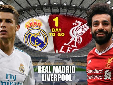 Real Madrid And Liverpool Fixtures details