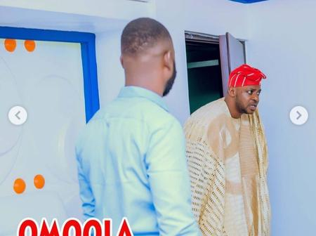 Odunlade Adekola shared pictures from set of a movie with Aina Gold, Eniola Ajao & others (Photos)