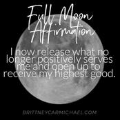 OPINION: A Full Moon Mantras I Release