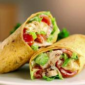 Moisture chicken wrap recipe