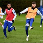 Chelsea Players Train With Small Balls Ahead Of Man United Clash