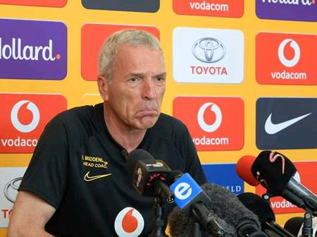 Middendorp Expresses his Disappointments after Maritzburg United failed to Beat Kaizer Chiefs