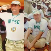 Reactions As White Man Shares His NYSC Photos