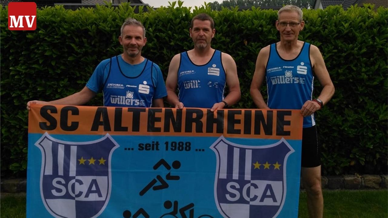Altenrheiner laufen ihren eigenen Hamburg-Marathon