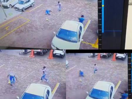 Watch : Hitmen assassinate a Bolt driver near DF Malan Drive Pretoria West in a brazen hit.