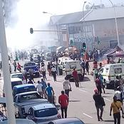 Foreign owned shops and property burnt in Durban CBD