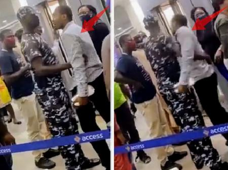 Video: After This Man Was Scammed By An Alleged Access Bank Representative, See What He Did Next