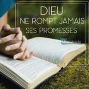 Voici des promesses que Dieu fit aux hommes avec leurs références Biblique