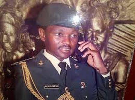 Meet Hamza al-Mustapha, Former Chief Security Officer To General Sani Abacha