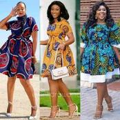 Check Out These 28 Beautiful Ankara Short Gown Styles For Ladies