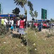 Nasty Road Accident Along Jogoo Road Leaves Seven People Injured