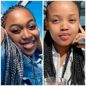 Pretty from Skeem Saam vs Lesedi from Generations. See pictures.