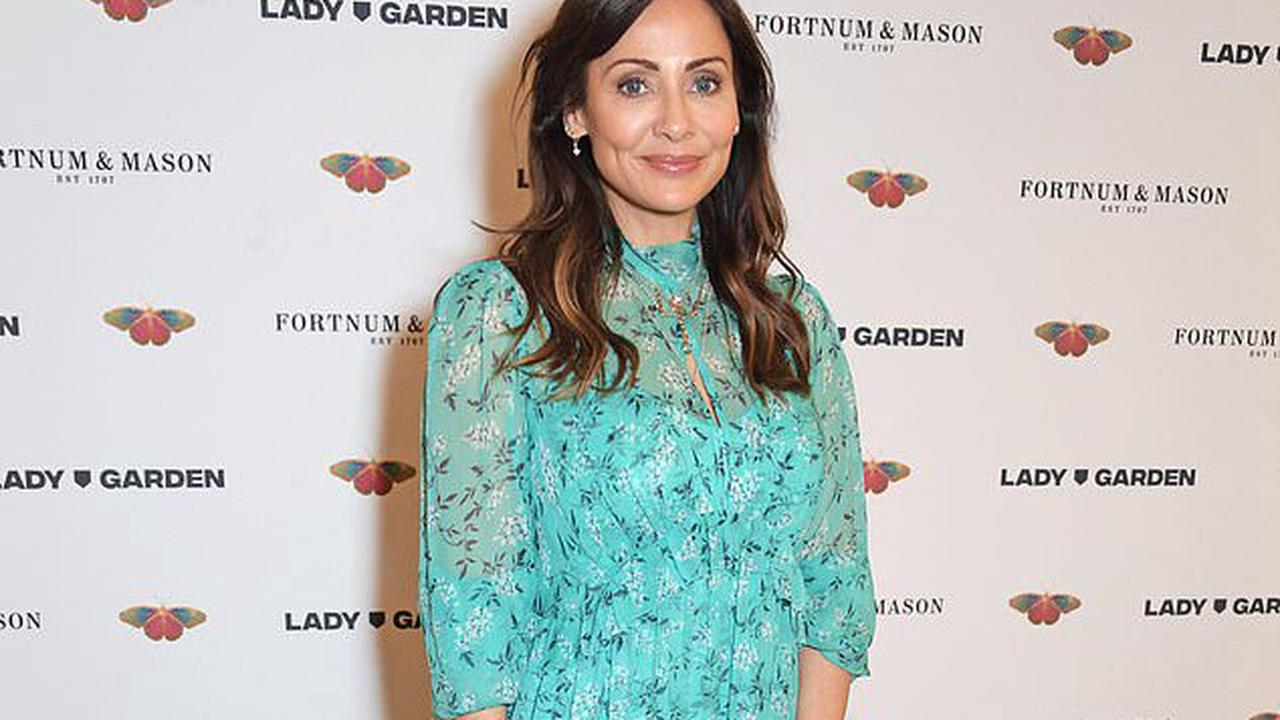 Natalie Imbruglia, 46, looks ageless as she dons a pretty floral dress for the Lady Garden Foundation Lunch