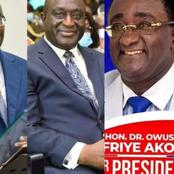 WN/R: It's Too Early To Declare Your Intentions - Bonney to NPP Presidential Aspirants