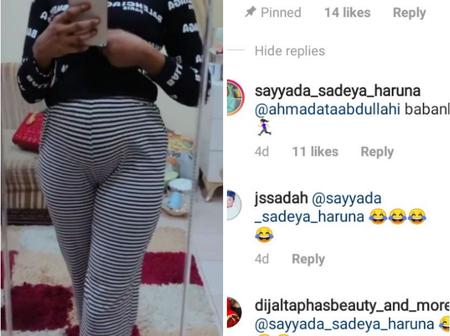Kannywood Star, Exchanges Words With A Man Who Said,