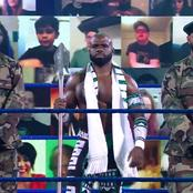 What the Spear Nigerian WWE Star Displayed on SmackDown Represents in Tiv Culture