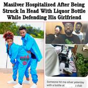 Popular Gengetone Artist Hospitalized After Being Hit On The Head With A Bottle Defending His Bae