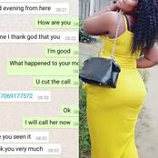So Funny: A Scammer Wanted To Scam A Mbaise Lady And She Played Along(Screenshot)