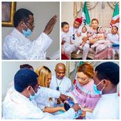 Poverty Is Bad: People React After A Catholic Priest Baptized Gov Hope Twin At Home And Not Church