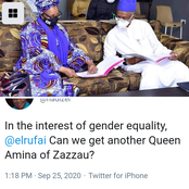 See What Governor Elrufai's Wife Posted That Sparked Reactions On Social Media