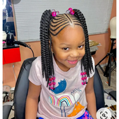 Sweet Mothers, Checkout These Beautiful Hairstyles Your Kids Can Rock This Holiday.