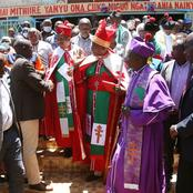 Huge Boost To Dp Ruto As Section of Religious Leaders From Mt Kenya Endorses Him for Presidency
