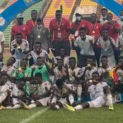 Black Satellites Of Ghana To Beat Uganda And Win CAF U-20 Afcon
