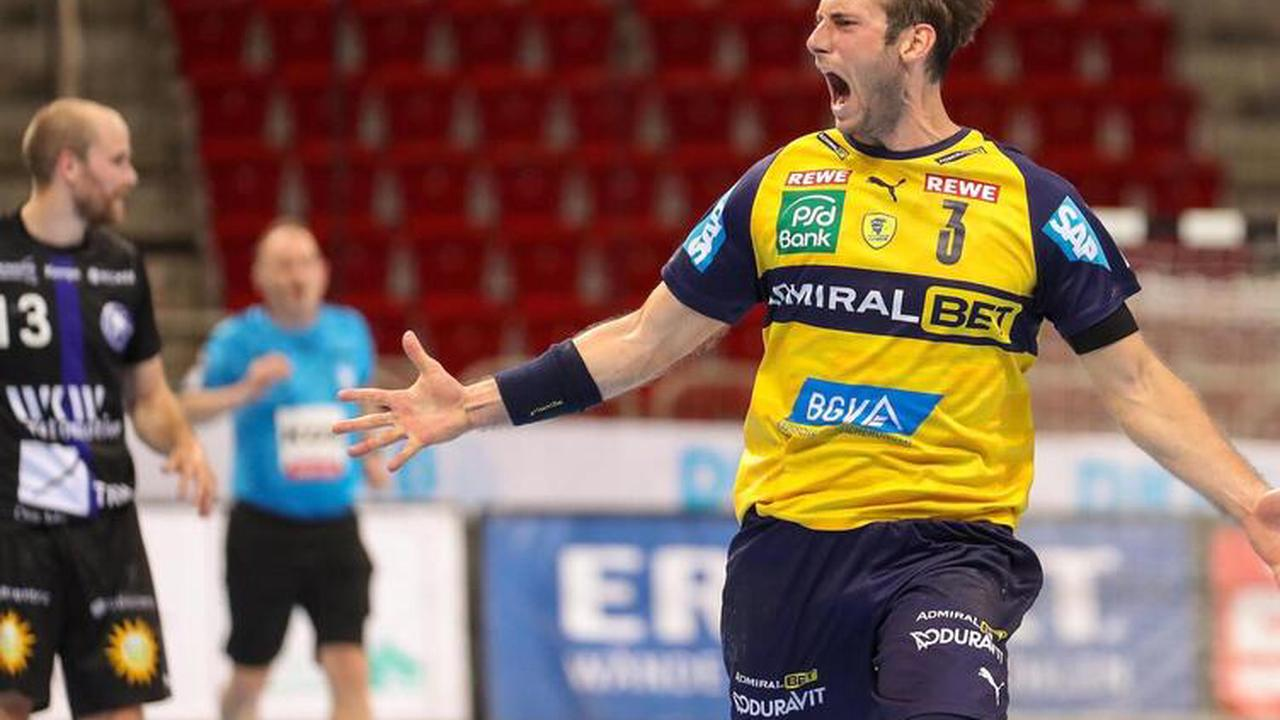 Rhein-Neckar Löwen beschenken ihren Trainer - Handball