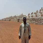 See Reaction As Man Shares Picture Of Rice Pyramids In Kebbi State,
