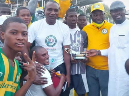 Former Super Eagles Goalkeeper's Son Emerges Best Goalkeeper In A National Tournament