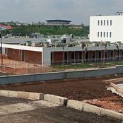 L'école des Juges à Yamoussoukro en finition