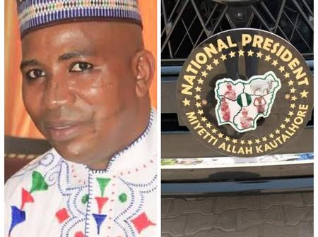 Check Out What Nigerians Noticed On Miyetti Allah President SUV Car That Sparked Reactions